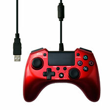 Hori Pad 4 FPS Plus Wired Controller Gamepad for PS4 PS3 Red