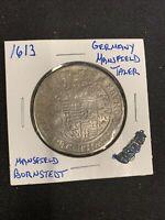 1613 Germany Mansfield Thaler Bornstedt