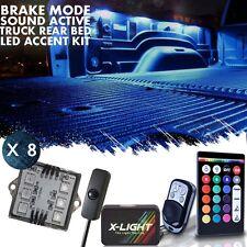 X-LIGHT Truck Bed LED Multicolor Pickup Liner Kit - Dodge RAM Box Lighting 2WD