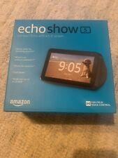 BRAND NEW FACTORY SEALED ECHO SHOW 5 Charcoal Compact Smart Display with Alexa