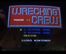 Nintendo Playchoice 10 Wrecking Crew Cart Pc-10