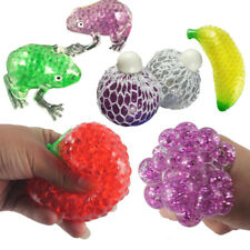 Novelty Fruit Ball Squeeze Frogs Ice Cream Squishy Stress Relief Toy Gift relax