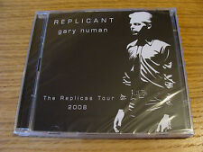 CD Double: Gary Numan : Replicant : 2 Hour Interview & Music Replicas Tour 2008