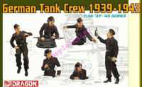 Dragon Models 6375 1/35 scale German Tank Crew 1939-1943 model 2019 new