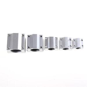 SC8UU-SCS20UU 8-20mm Linear Motion Ball Bearing Machinery Slide Bush s/LS W7 ZC