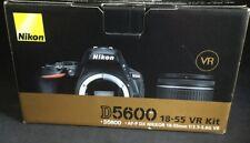Nikon D5600 Digital Camera Kit AF-P DX 18-55mm shutter count#2007- #1183