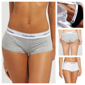 Calvin Klein Women's Modern Sport TWIN PACK BOYSHORTS Underwear Stretch Cotton
