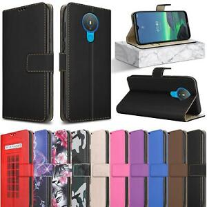 For Nokia 1.4 Case Slim Leather Wallet Magnetic Flip Stand Card Slot Phone Cover