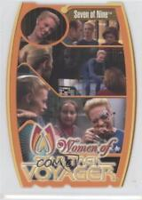 2001 Rittenhouse The Women Star Trek: Voyager HoloFEX #M5 Seven of Nine Card g3b