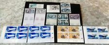 poste aerienne coin date neuf bloc french air mail stamp bord feuille airbus