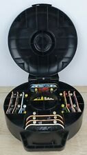 TECH DECK SPIN MASTER STORAGE CASE WITH 11 FINGER SKATEBOARDS & EXTRAS