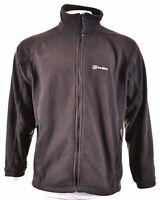 BERGHAUS Mens Fleece Jacket Size 40 XL Black Polyester EH03