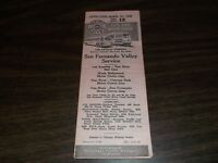 APRIL 1948 PACIFIC ELECTRIC LOS ANGELES SAN FERNANDO VALLEY PUBLIC TIMETABLE #12