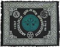 """Tree Of Life Ouija-Board Altar Cloth 24"""" x 30"""" Wiccan Pagan Witchcraft Altar"""
