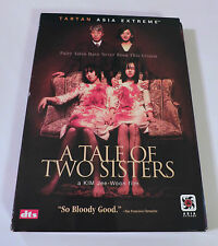 A TALE OF TWO SISTERS (DVD, 2006, 2-Disc Set) Slipcase R1 Korean w/English Subs