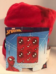 "MARVEL SPIDERMAN KIDS 40""X 50"" SUPER SOFT THROW BLANKET"