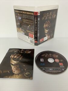 PS3 Dead Space Game With Manual Playstation 3 EA *RARE* Free Tracked Post