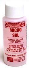 Micro Sol Decal Setting Solution by Microscale 1oz Bottle - 39319