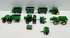 Huge Lot Ertl Toy 1/64 Green John Deere Tractors Farm Implements Equipment