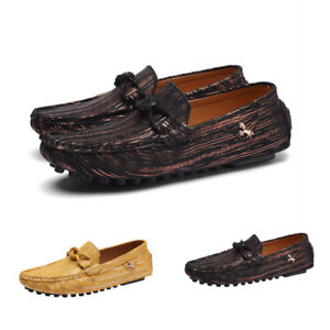 Mens Gommino Pumps Slip On Loafers Outdoor Driving Leisure Breathable Shoes Hot