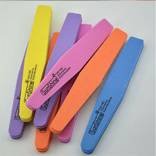 Nail File Art Sanding Buffer Salon Manicure Polisher Tool Grit 100/180 NE Sale