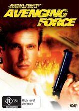 AVENGING  FORCE  MICHAEL  DUDIKOFF  DVD  REGION 4