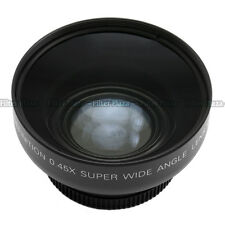 0.45x 43mm 43 mm macro conversion & wide angle Lens 62mm front thread