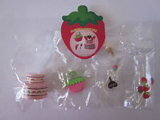 "Re-Ment ""Merry Strawberry World"" Secret Set No. 11 - Cake, Ice Cream, Purse, Key"