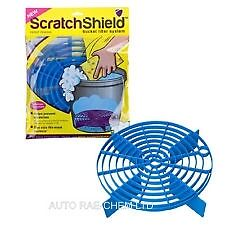 Scratch Shield Grit Guard Adjustable Universal Wash Bucket Water Filter BLUE