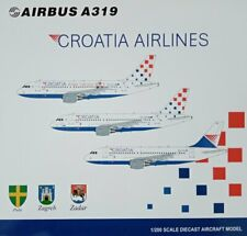 JC-Wings JC2144  1:200 CROATIA AIRLINES A319 (25YEARS GODINA) 9A-CTH  metall !!