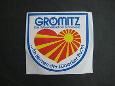 Alter Aufkleber, Autoaufkleber - Grömitz...im Herzen der Lübecker Bucht
