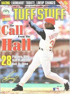 Tuff Stuff May 2001 Ken Griffey Jr Cincinnati Reds Call From The Hall