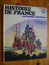 POIVET / RIBERA - Histoire de France en BD n° 11 - Larousse EO 1977