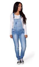 Jeans da donna blu denim sbiaditi