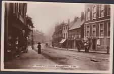 More details for postcard - lower higher street, stourbridge - real photo c1910