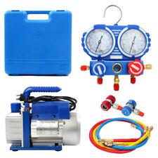 3.5CFM Vacuum Pump Air Conditioning Refrigeration Tools Manifold Gauges AU