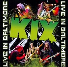 KIX Live in Baltimore [CD/DVD] OOP Hair Metal MHR New / Sealed AC/DC Glam ROCK