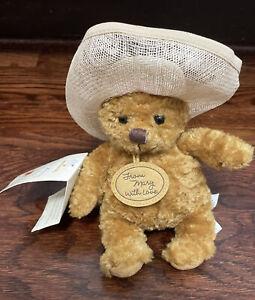 """Hallmark Artist Mary Hamilton 50th Anniversary From Mary with Love Plush Bear 7"""""""