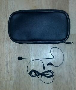 SBSL09A SNB Omni Earset Microphone with SHURE TA4F Connector black Color NEW