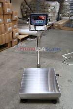 300 Lb Digital Floor 12 X 16 Bench Scale Electronic Platform Shipping 150 Kg
