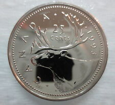 1993 CANADA 25 CENTS PROOF-LIKE COIN