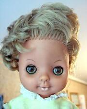 Vintage 1960's Soviet Russian Ussr hard plastic closing eyes doll