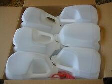 24-1 GALLON HDPE FOOD GRADE PLASTIC MILK JUGS WITH TAMPER PROOF SCREW CAPS