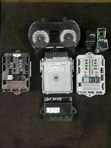 2008 - 2011 JAGUAR XF 3.0 DIESEL COMPLETE ECU KIT