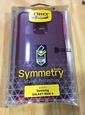 Otterbox Symmetry Series Hard Cover Case for Samsung Galaxy Note 4 -damson berry