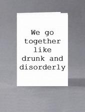 Noi stiamo insieme come Ubriachezza molesta