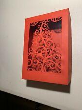 "Handmade Christmas Paper Gift Box - 5"" x 7"" x 1.5"""
