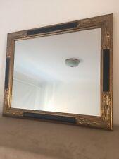 Vintage Mirror - Black And Gold Frame