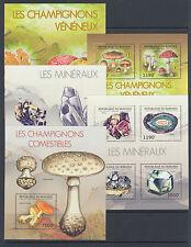 Burundi Sc 1191-1240 MNH. 2012 Flora & Fauna, long set of 50 souvenir sheets, VF