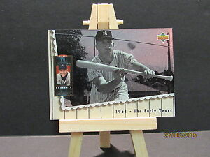 1994 Upper Deck Mantle Heroes #64 Mickey Mantle / 1951 The Tôt Ans Dhc